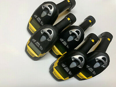 Lot of 5 Used Datalogic PowerScan M8300 Barcode Scanners/Readers 910mhz PM8300