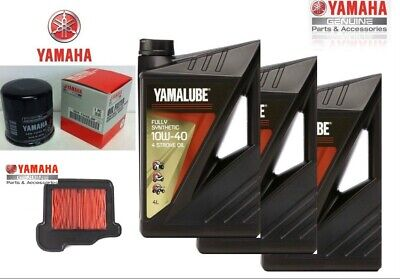 Inspection Set Yamalube FS Oil Filter + Air Filter MT Tracer 900 100% Synthetic