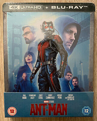 Marvel Ant-man and the Wasp  SteelBook 4K + Blu-ray Brand New Sealed Super Rare