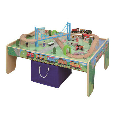 NEW MAXIM Train Set with Play Table 50pce
