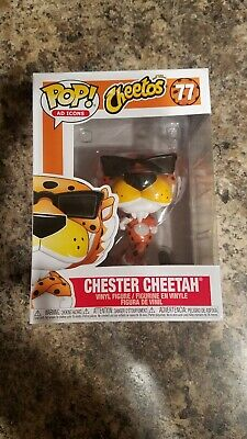 Funko Pop! Ad Icons Cheetos Chester Cheetah #77 Rare Brand New *IN HAND*
