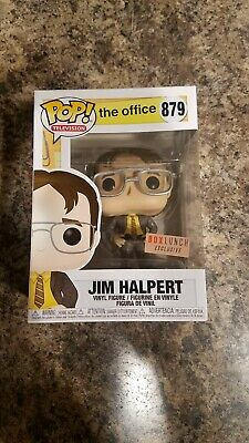 Funko Pop! TV The Office Jim Halpert As Dwight #879 Box Lunch New *IN HAND*