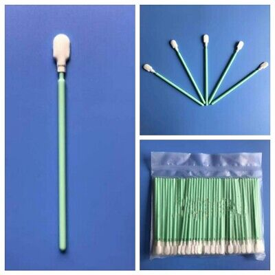 Cleaning Foam Swabs Sticks Fit For Roland Mimaki Mutoh Epson Printer 100Pcs