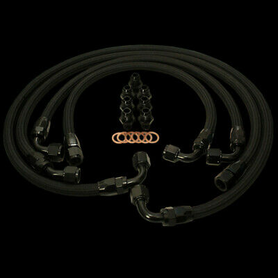 Braided Oil Hose/Line Kit for Mazda RX8 2004-2011 AN-10