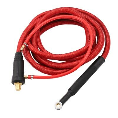 WP9F 4M Red Super Soft Hose Braided Air-Cooled Complete TIG Welding Torch 3 F2D7