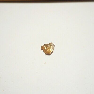 Genuine Australian Gold Nugget From The Goldfields 0.59 Gram No 68