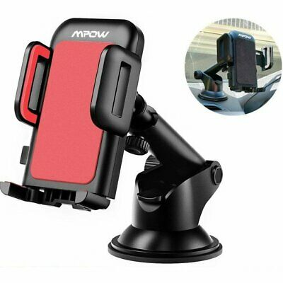 Mpow 360° Dashboard Car Mount Mobile Phone GPS Holder Cradle Stand Suction UK
