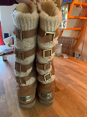 AUSTRALIA LUXE Boots Fell Stiefel Nordic short neu Gr 41