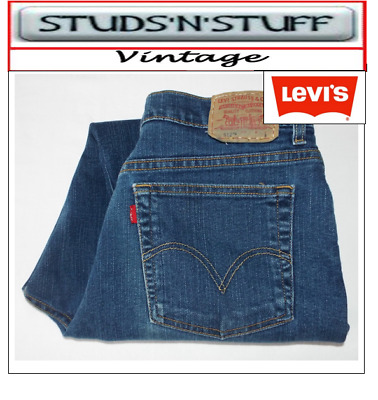 """Vintage Levis 512'S Slim Tapered Fit Jeans W36"""" L28"""" Aprox Size Uk 16 (T223"""