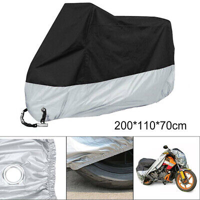 Durable Oxford Motorcycle Motorbike Rain Dust Cover Water Dust Protection