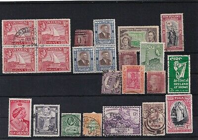 Unchecked Commonwealth Stamp Selection Mixed Condition Lot 9