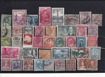 Unchecked Commonwealth Stamp Selection Mixed Condition Lot 18
