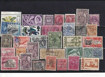 Unchecked Commonwealth Stamp Selection Mixed Condition Lot 19