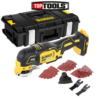 Dewalt DCS355 18V XR Brushless Multi Tool With Accessories & DS150 Case