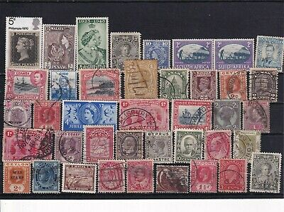 Unchecked Commonwealth Stamp Selection Mixed Condition Lot 13