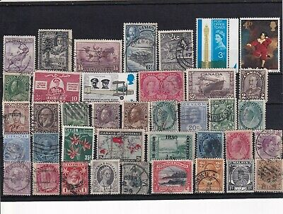 Unchecked Commonwealth Stamp Selection Mixed Condition Lot 14