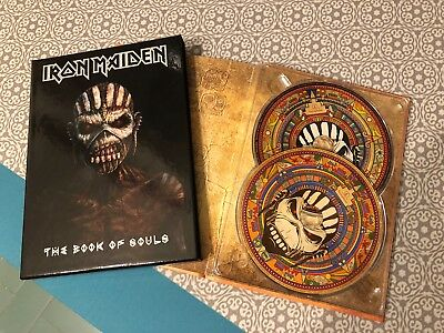 IRON MAIDEN The Book Of Souls Deluxe Pack Edition 2CD