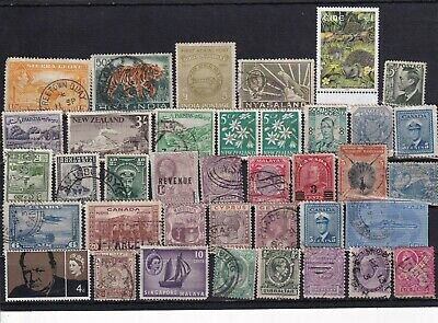 Unchecked Commonwealth Stamp Selection Mixed Condition Lot 20