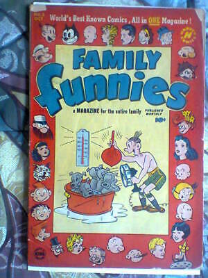 Family Funnies 2 1950 Comic Book Felix Popeye Good Very Rare Only 8 Published