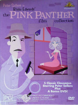 The Pink Panther Film Collection (DVD, 2006, 6-Disc Set, Box Set)