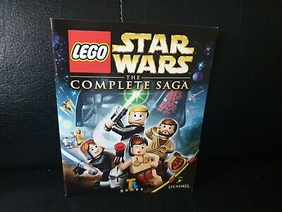 Lego Star Wars: The Complete Saga, Sony Playstation 3 Game Manual, Trusted Shop