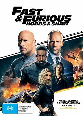 Fast Furious Presents Hobbs Shaw DVD Region 4 NEW // PRE-ORDER for 13/11/2019