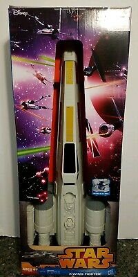 """Star Wars Hero Series X-Wing Fighter Vehicle A NEW HOPE EPISODE IV 29"""" LONG"""