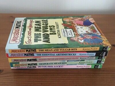 Five murderous maths books by kjartan poskitt (paperback, 2000)