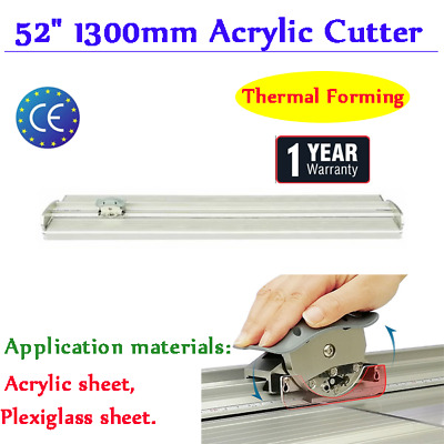 "52"" Upgraded Large Format Acrylic Cutter Cutting Tool +Protective Cover"