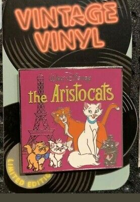 Disney Parks  Pin Vintage Vinyl - The Aristocats pin LE 3000
