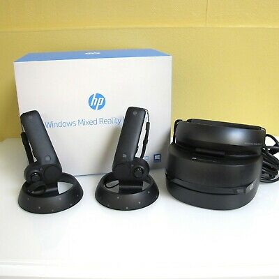 HP Windows Mixed Reality VR Headset Windows VR1000-100+2 Controllers
