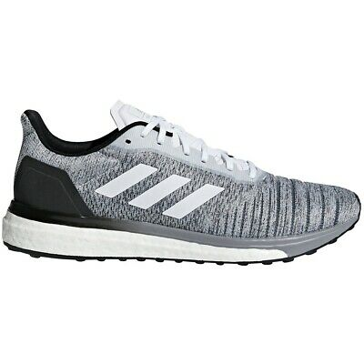 Mens Adidas Solar Drive Grey Athletic Running Sport Shoes AQ0337 Size 10.5-15