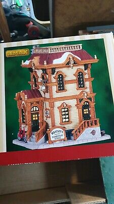 Lemax christmas village Whatley's elementary school boxed