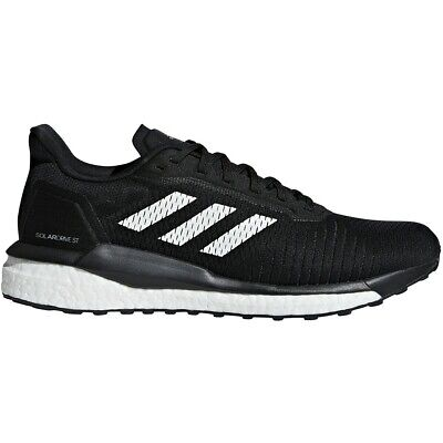 Mens Adidas Solar Drive ST Black Athletic Running Sport Shoes D97443 Size 8.5-14