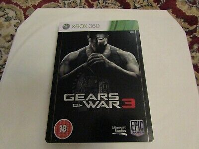 Xbox 360  Gears Of War 3 [Metal Case]