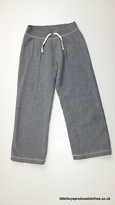 6-7 year GAP grey girls joggers comfy trousers
