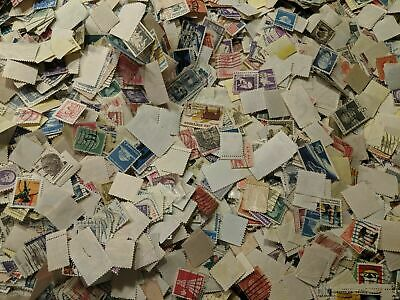Vintage Lots Of Used, US Postage Stamps - FREE SHIPPING - Buy 4 Get 1 FREE