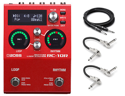 New Boss RC-10R Rhythm Loop Station Guitar Effects Pedal