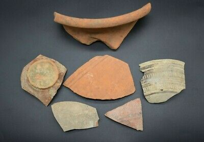Mixed lot of ancient Roman & Bronze Age Indus Valley pottery fragments