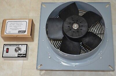 Flakt Woods Fan 425 and 1.3 Flakt controller