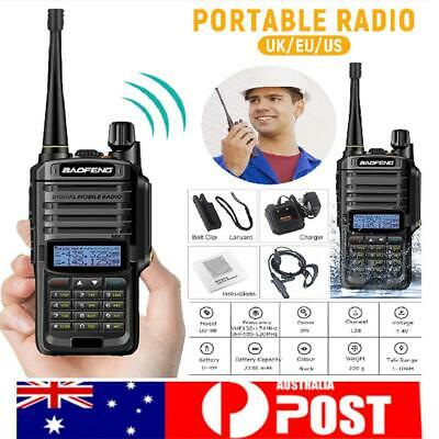 UV-9R Plus Baofeng 8W VHF UHF Walkie Talkie Dual Band Handheld Two Way Radio