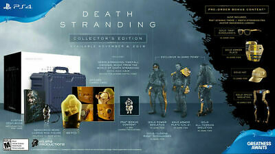Death Stranding Collector's Edition [PS4] Playstation 4 2019 SOLD OUT! NEW! RARE