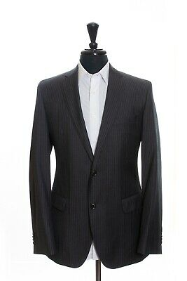 Hugo Boss Grey Tonal Stripe James Sharp2 Suit 42R 13156