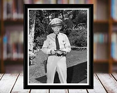 Barney Fife Autograph Promo Print - Andy Griffith Show - Don Knotts - Desktop Fr