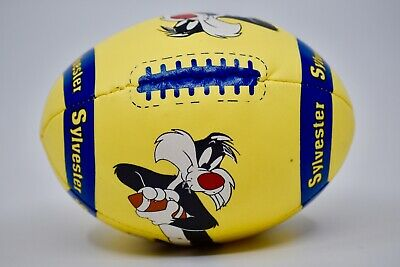 1995 Ace Novelty Looney Tunes Sylvester Yellow Stress Soft Fiber Filled Football