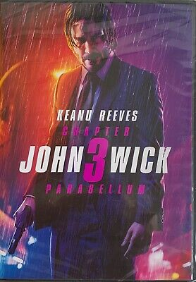 JOHN WICK CHAPTER 3 ~ PARABELLUM    <   DVD   >    *New *Factory Sealed