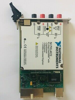 National Instruments NI PXI-4072 6-1/2 Digit FlexDMM