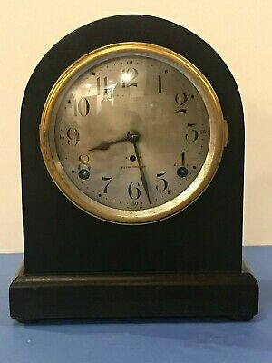 Beautiful Seth Thomas Antique Mantel Clock Mechanical Movement CTx#239