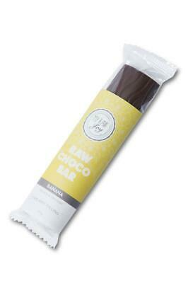 My Raw Joy  Cacao Cream Bar Banana 30g (Pack of 18)