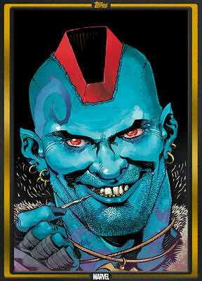 Topps Marvel Collect Card Trader Yondu #1 GOLD Comic Book Day Nov 6 2019